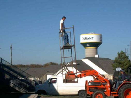 Hire scaffold