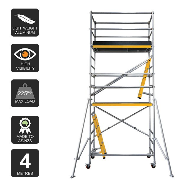 Aluminium Mobile Scaffold 4m