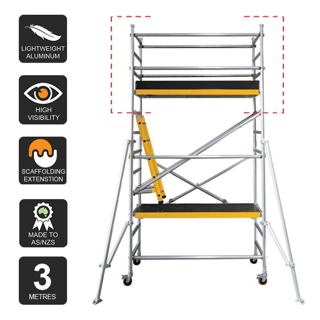 Scaffold Extension Kit 3.0m